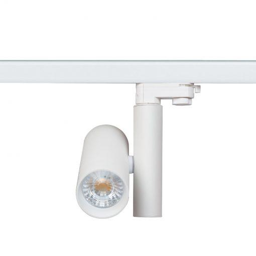 white track spotlights
