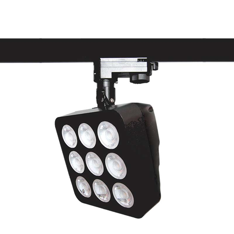 Square track lighting