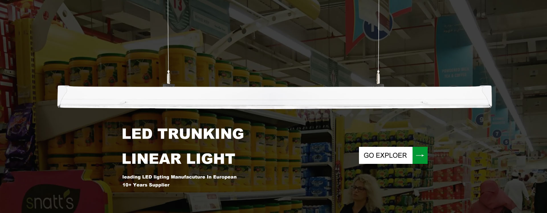 What Is Led Linear Lighting Linear Trunking Light