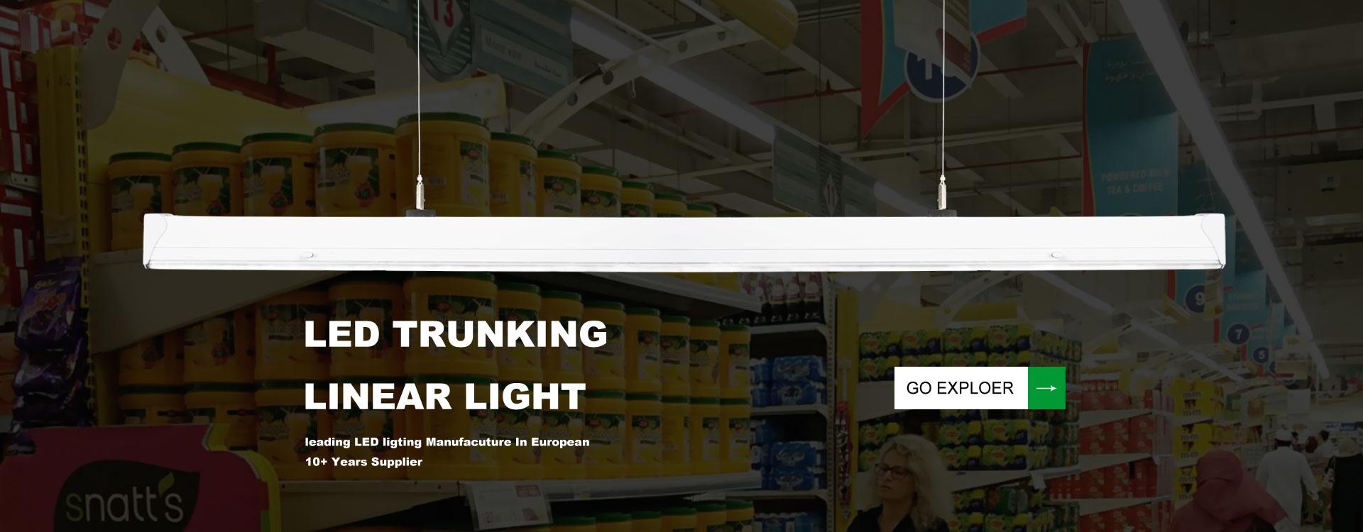 led trunking system lighting