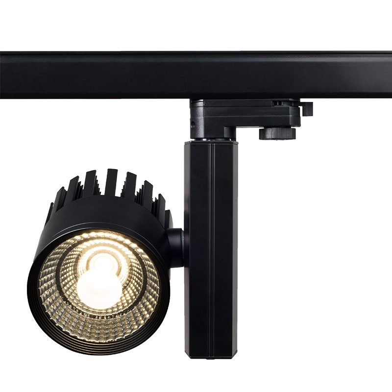 LED driver external track light