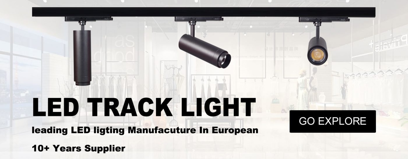 dimmable track lighting led factory