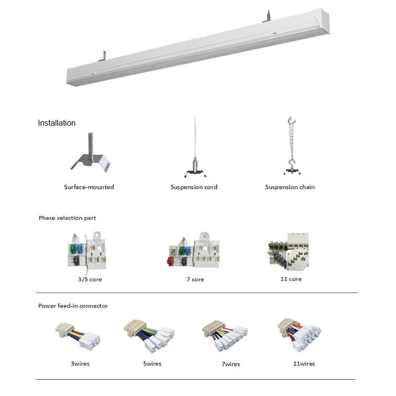 trunking system linear light