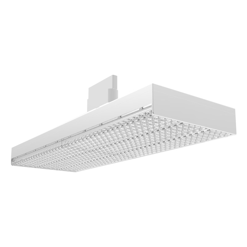 LED track panel bay light