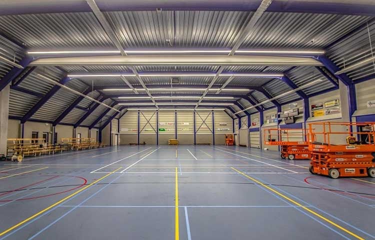 BST-LLC01  for indoor sports facilities linear light project in the Netherlands