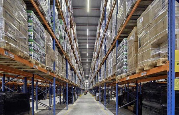 LED linear lights-warehouse application examples